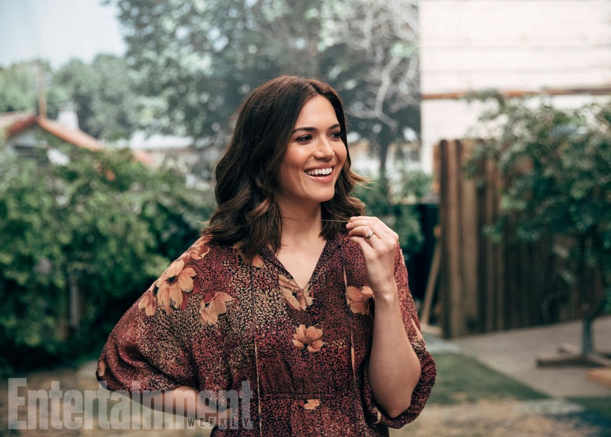 MANDY MOORE for Entertainment Weekly, 2017