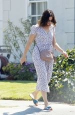 MANDY MOORE Out and About in Beverly Hills 08/04/2017