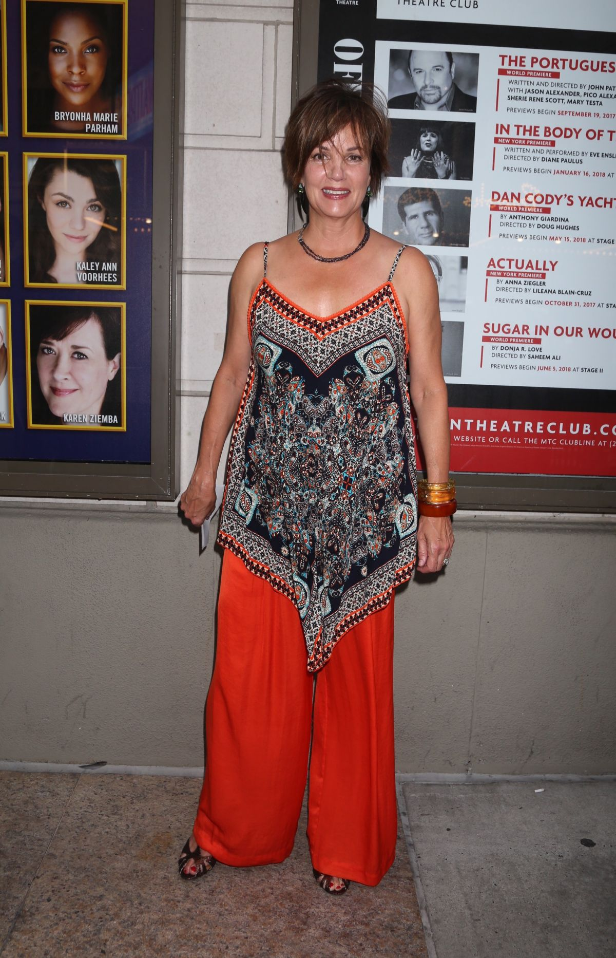 Margaret colin prince of broadway premiere in new york
