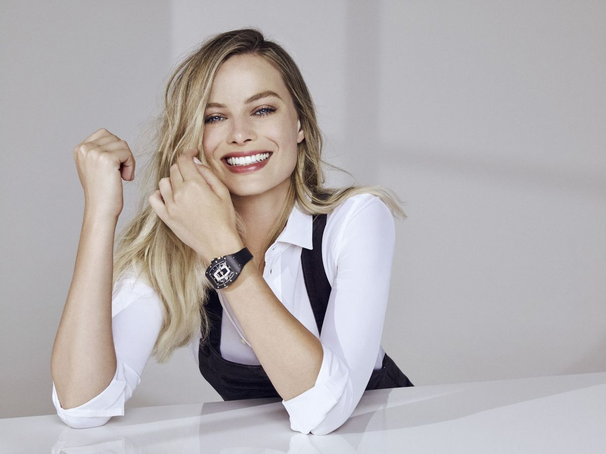 MARGOT ROBBIE for Richard Mille 2017