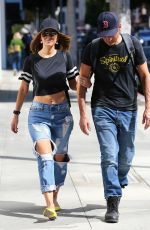 MARIA MENOUNOS and Keven Undergaro Out in Beverly Hills 08/03/2017