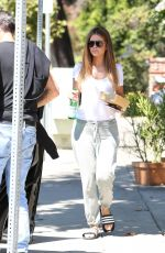 MARIA MENOUNOS Out for Lunch at Coral Tree Cafe in Los Angeles 08/22/2017
