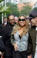 MARIAH CAREY Leaves Four Seasons Hotel in Toronto 08/24/2017