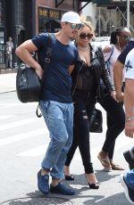 MARIAH CAREY and Bryan Tanaka Out in New York 08/16/2017