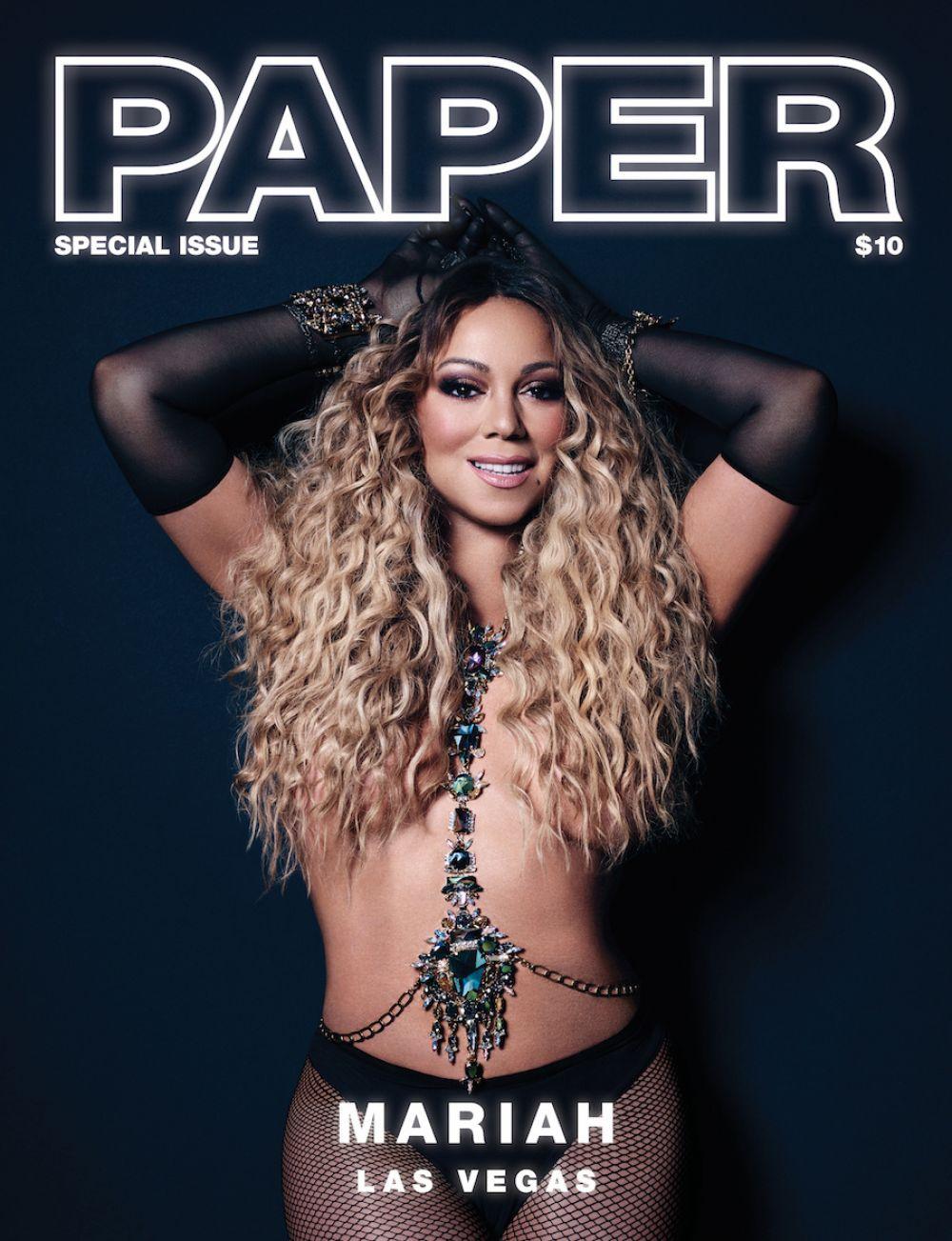 MARIAH CAREY for Paper Magazine, Las Vegas Issue 2017