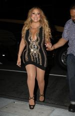 MARIAH CAREY Out and About in Boston 08/22/2017