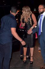 MARIAH CAREY Out for Dinner in New York 08/19/2017