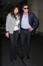 MARIE and Donny OSMOND Arrives at Today Show in New York 08/21/2017