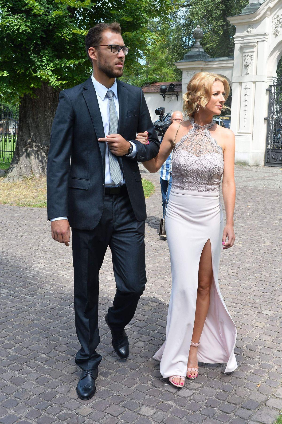 MARTA DOMACHOWSKA at Agnieszka Radwanska Wedding in Cracow 07/22/2017
