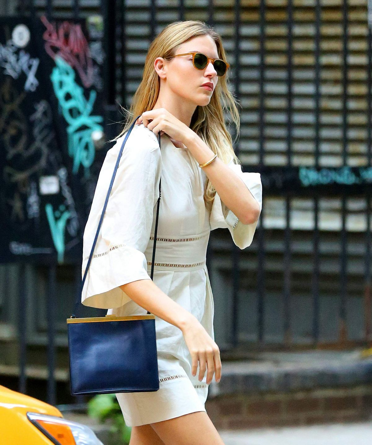 MARTHA HUNT Out and aAbout in New York 08/16/2017