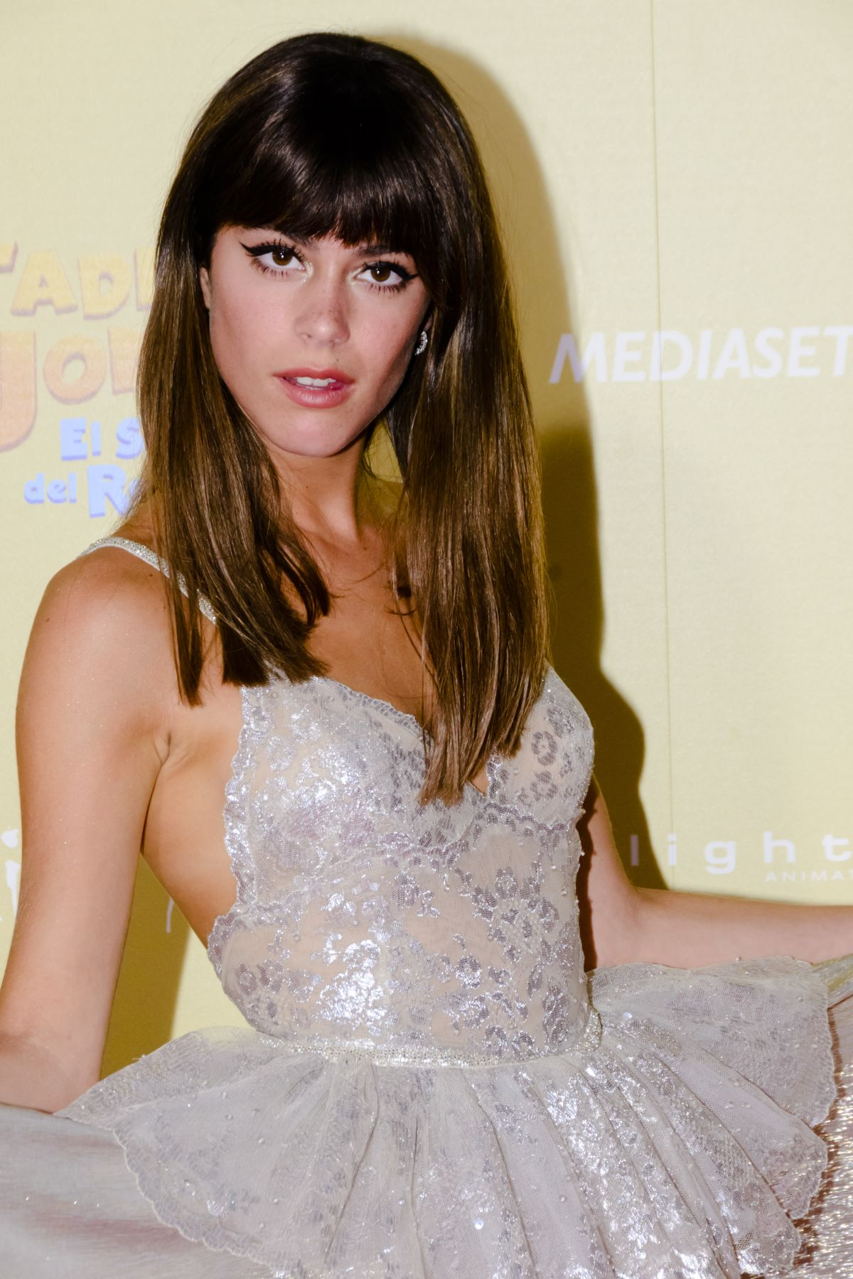 MARTINA STOESSEL at Tadeo Jones 2 Premier in Madrid 08/22/2017