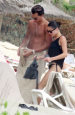 MARTINA STOESSEL in Bikini at a Beach in Formentera 08/01/2017