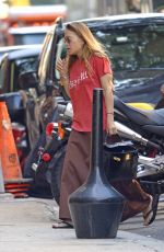 MARY KATE OLSEN Out and About in New York 08/24/2017