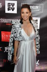 MASIELA LUSHA at Sharknado 5: Global Swarming Premiere in Las Vegas 08/06/2017