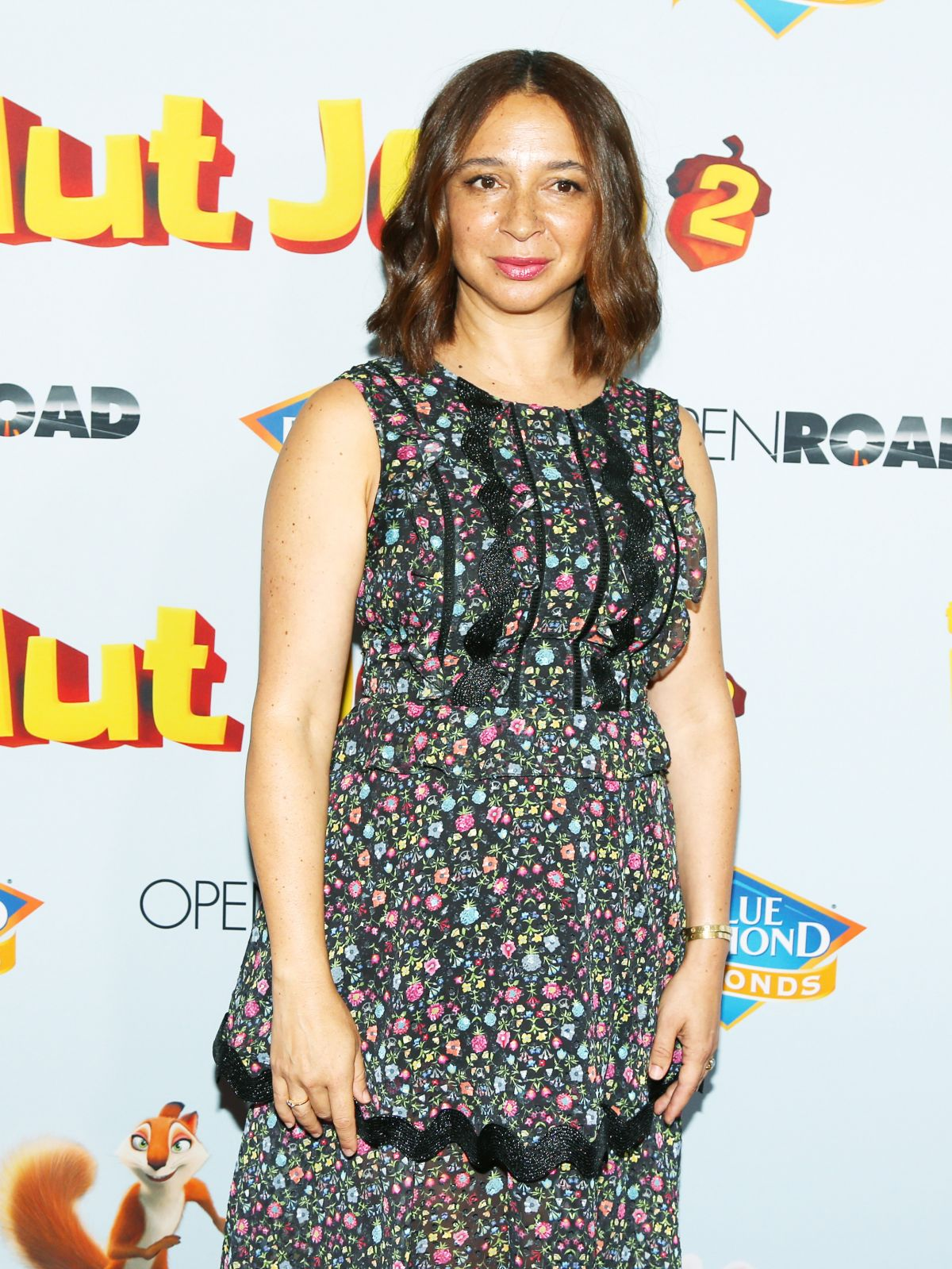 Maya Rudolph At The Nut Job 2 Nutty By Nature Premiere In Los Angeles 08