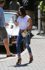 MEGAN FOX Out for Lunch at Geoffrey