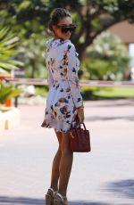 MEGAN MCKENNA and AMBER TURNER Leaves Their Hotel in Marbella 08/08/2017