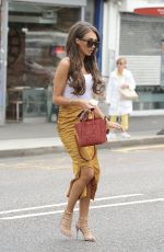 MEGAN MCKENNA at Her Restaurant MCK Grill in Woodford Green 08/12/2017