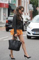 MEGAN MCKENNA in Short Skirt Out in Essex 08/22/2017