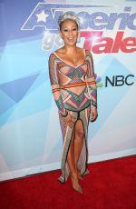 MELANIE BROWN at America's Got Talent, Season 12 Quarter Final in Hollywood 08/22/2017