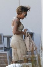 MELANIE BROWN Out and About in Los Angeles 08/09/2017