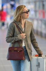 MELISSA GEORGE Arrives at Airport in Melbourne 08/10/2017