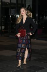 MELISSA GEORGE Leaves The Project in Melbourne 08/10/2017