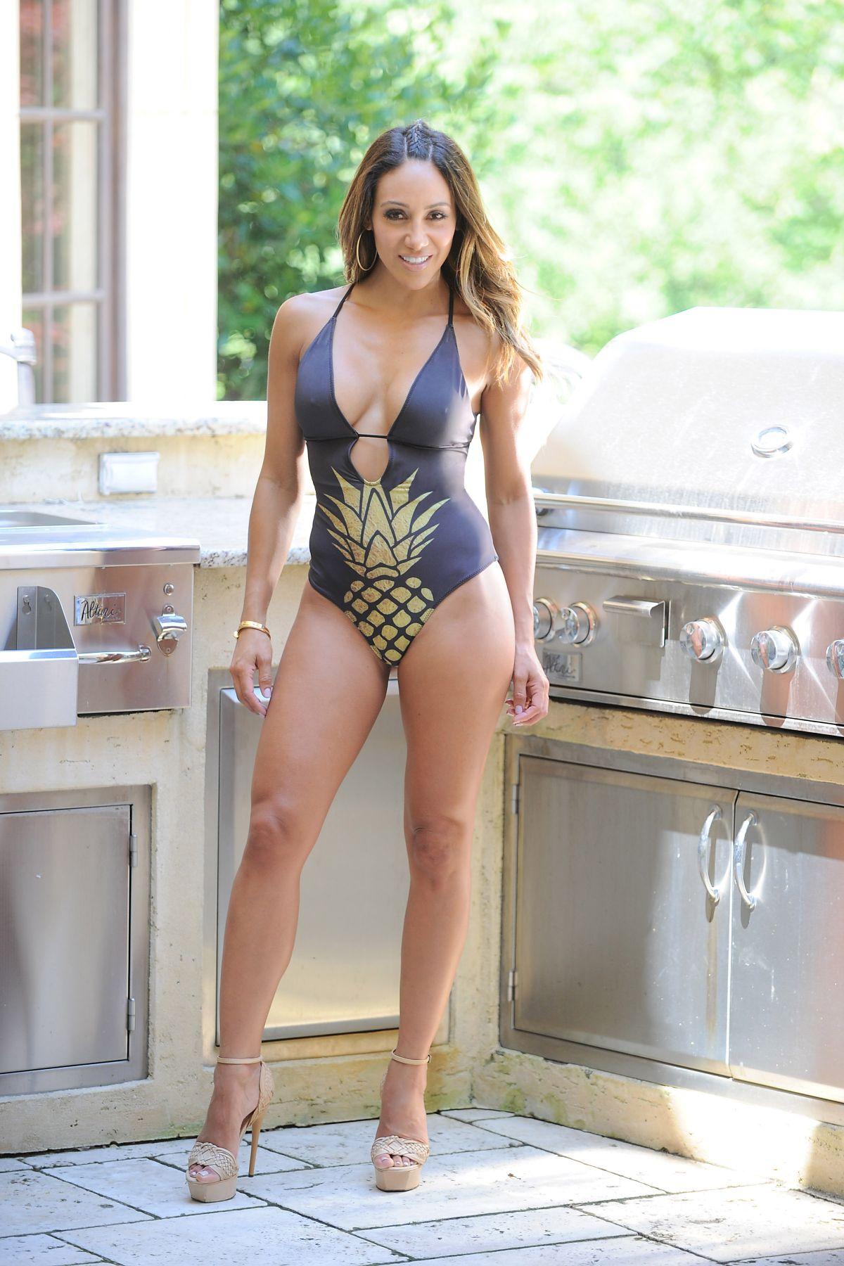 MELISSA GORGA in Swimsuit in Montville 08/03/2017