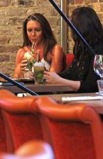 MICHELLE HEATON Out for Lunch at Gabeto in Camden 08/20/2017
