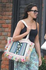 MICHELLE KEEGAN Out for Lunch in Essex 08/14/2017