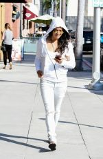 MICHELLE RODRIGUEZ Out and About in Los Angeles 08/03/2017