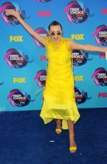 MILLIE BOBBY BROWN at Teen Choice Awards 2017 in Los Angeles 08/13/2017