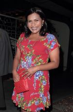 MINDY KALING at Madeo Restaurant in Hollywood 08/08/2017