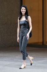 MING XI at Fittings for Victoria's Secret Fashion Show 2017 in New York 08/26/2017