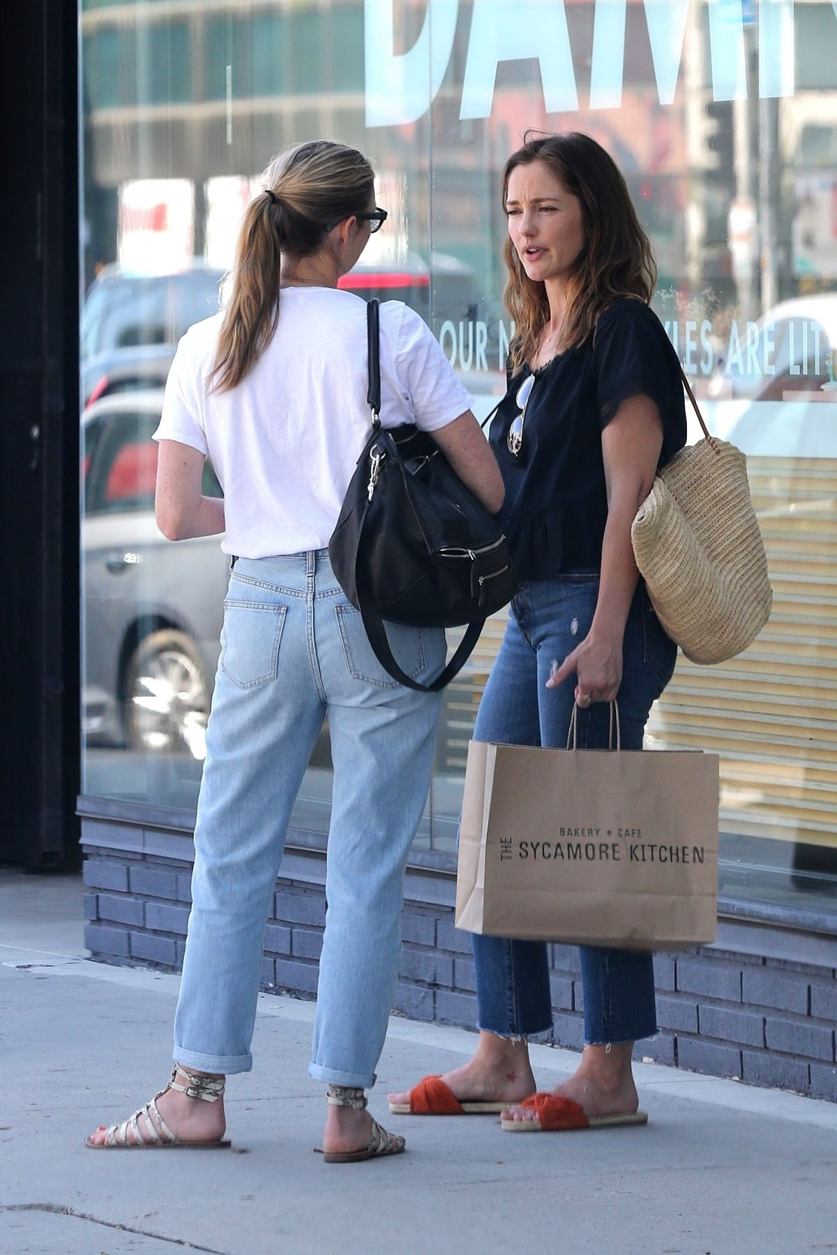 MINKA KALLEY Leaves at Sycamore Kitchen in Hollywood 08/21/2017 ...
