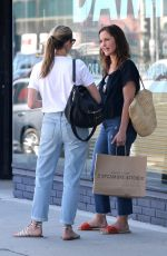 MINKA KALLEY Leaves at Sycamore Kitchen in Hollywood 08/21/2017