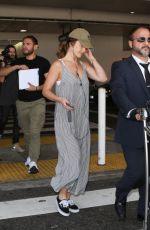 MINKA KELLY at LAX Airport in Los Angeles 08/09/2017