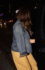 MINKA KELLY Night Out in West Hollywood 08/14/2017