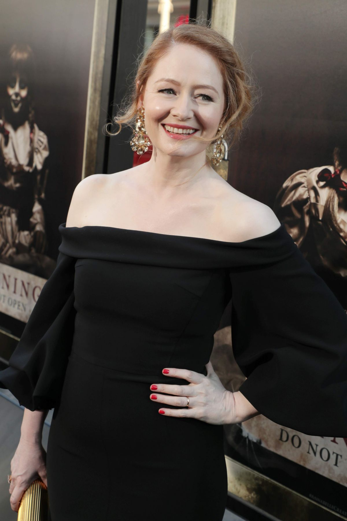 MIRANDA OTTO at Annabelle Creation Premiere in Los Angeles 08/07/2017
