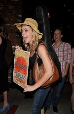 MISSI PYLE Heading to a Gig in Hollywood 08/27/2017