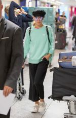 MOLLIE KING Arrives from Cape Town 08/17/2017