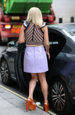 MOLLIE KING Leaves BBC Studio in London 08/07/2017
