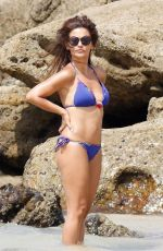 MONICA CRUZ in Bikini on the Beach in Cadiz 08/15/2017