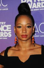 MONIQUE COLEMAN at Industry Dance Awards in Hollywood 08/16/2017