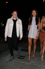 MONTANA BROWN at Catch LA in West Hollywood 08/14/2017