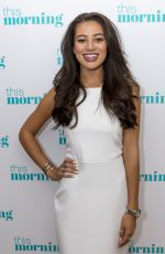 MONTANA BROWN at This Morning Show in London 08/10/2017