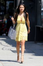 MONTANA BROWN Out Shopping in Los Angeles 08/14/2017