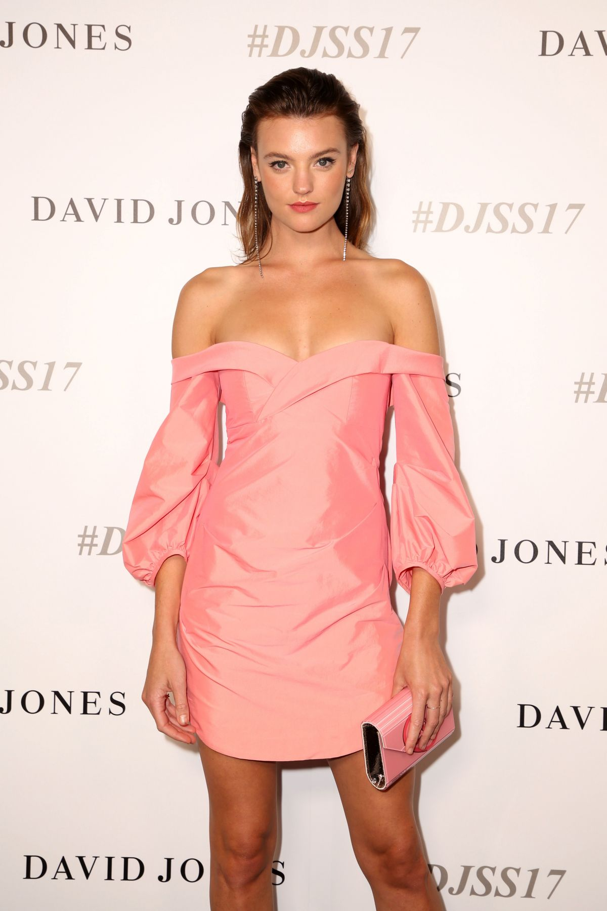MONTANA COX at David Jones S/S 2017 Collections Launch in Sydney 08/09/2017