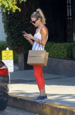 MORGAN STEWART Out and About in West Hollywood 08/12/2017