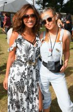 MYLEENE KLASS and PERRIE EDWARDS at V Festival at Hylands Park in Chelmsford 08/20/2017